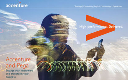Pegasystems, Accenture Unveils Intelligent Customer Decisioning Service to Enhance Customer Engagement