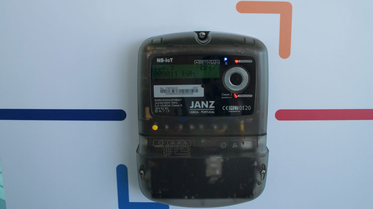 Smart Meter integrating NB-IoT technology