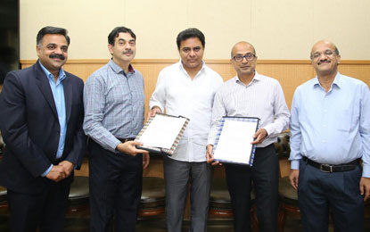 Government of Telangana Inks Pact with Microsoft Cloud, becomes the first State to use Artificial Intelligence