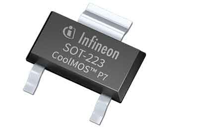 Infineon Expands Recently Launched CoolMOS P7