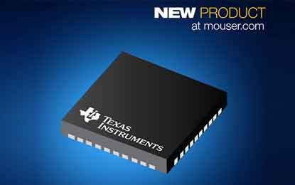 Mouser Stocks Texas Instruments' LMX2594 Wideband Microwave PLLatinum RF Synthesizer