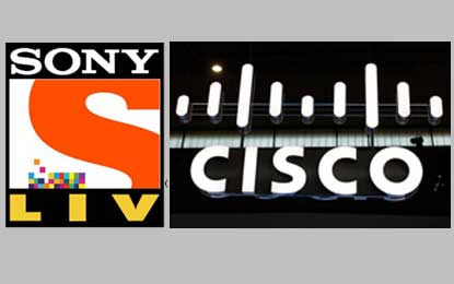 SonyLIV and Cisco