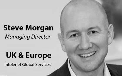 Steve Morgan to Lead Intelenet Global Services' UK and European Market