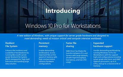 Windows 10 Prosations
