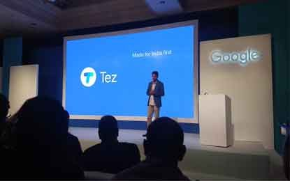 Google Launches 'Tez'– A Mobile Payment App Promising New Cashless Culture in India