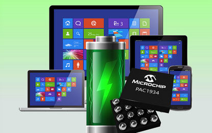 Microchip Unveils Power Monitoring IC Delivering Precise Software Power Measurement in Windows 10 devices