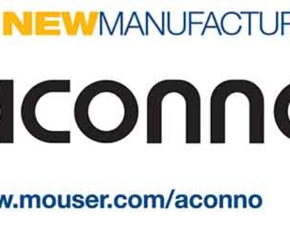 Mouser Inks Global Distribution Pact with aconno