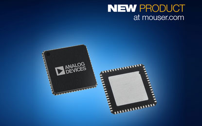 Mouser Electronics ADuCM3027 and ADuCM3029 ultra-low-power microcontrollers
