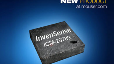 Mouser Rolls Out InvenSense