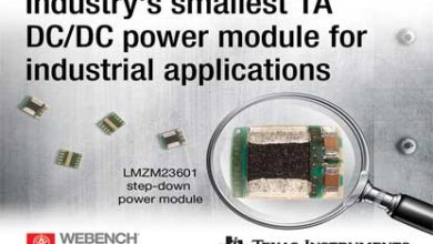 Texas Instruments DC/DC step-down converters