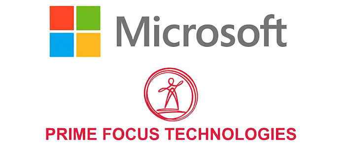 Microsoft and Prime Focus Technologies