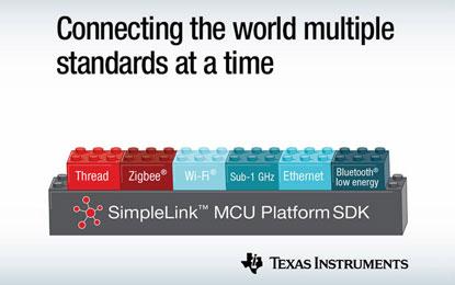 TI SimpleLink MCU platform