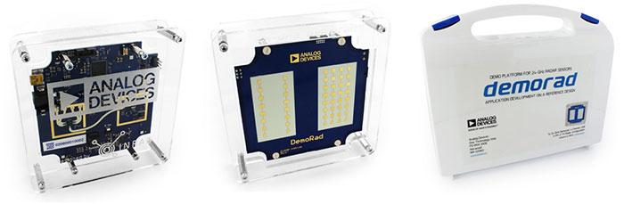 Demorad 24 GHz radar platform solution