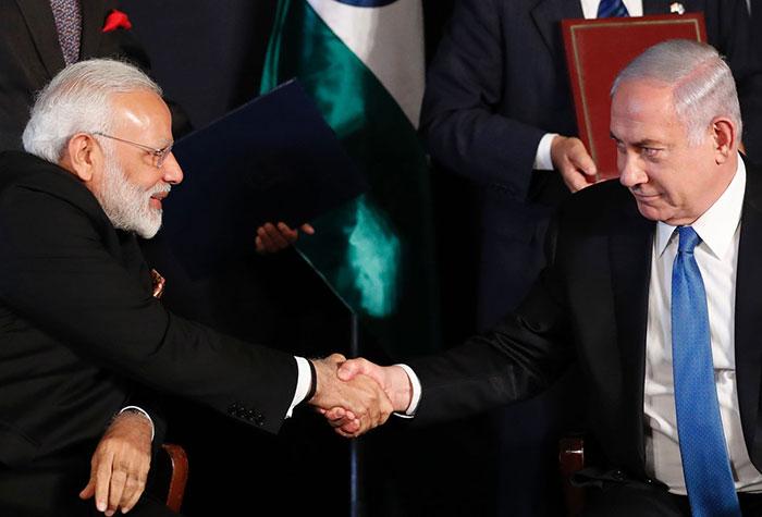 India Israel inks
