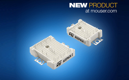 Mouser Electronics Stocks the ACEPACK IGBT Modules
