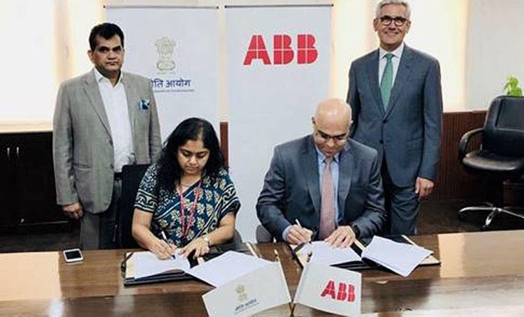 abb and NITI Aayog