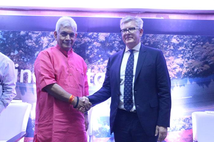Manoj Sinha and Borje Ekholm