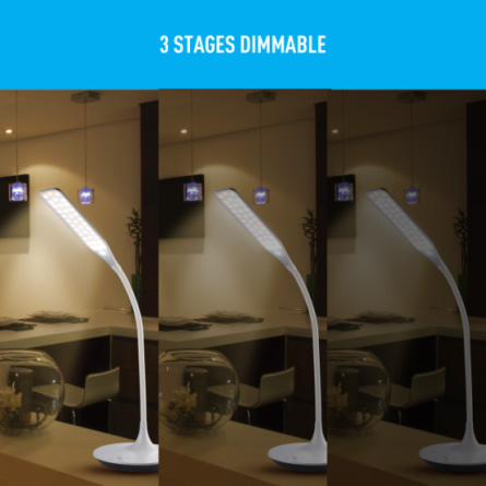 3 Stages Dimmable