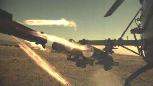 HeliNa Missile