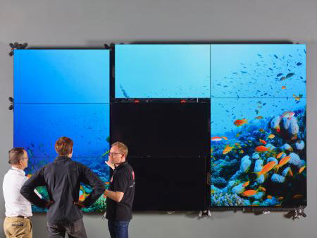 Barco Rolls out Bezel-Less LCD Video wall, Barco UniSee