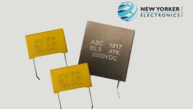 New Yorker Electronics Self-Healing Board Level Capacitors