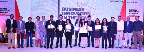 accenture announces winners