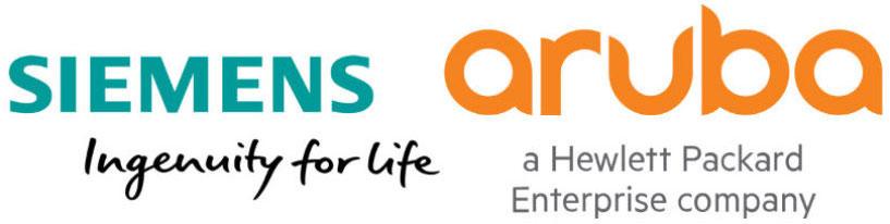 Siemens and Aruba