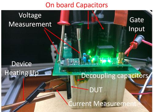 Short circuit test setup
