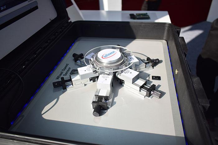 Infineon wheel speed sensor