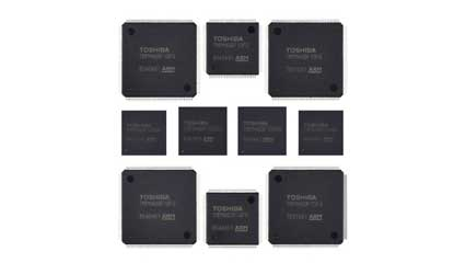 Toshiba's Arm Cortex-M4-based MCU Achieve High-Speed Data Processing