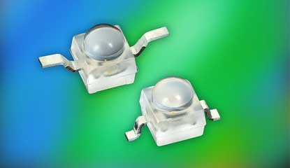 Vishay Intertechnology Releases Space-Saving Blue and True Green Ultrabright LEDs