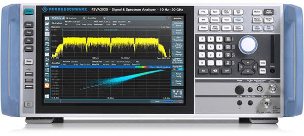 Rohde & Schwarz Spectrum Analyzer Ideal