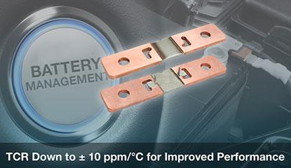 Vishay WSBS Power Metal Strip Shunt Resistors
