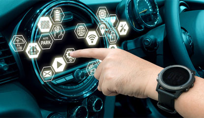 All-in-One Power Solution for Automotive Infotainment—Single IC Produces Five Rails Directly from Battery