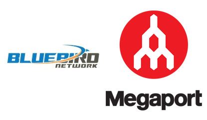 Bluebird Network with Megaport