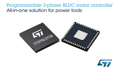 STSPIN32 programmable motor controller