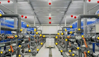 IoT-enabled factory blends old and new technology
