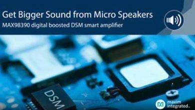 Micro Speakers MAX98390