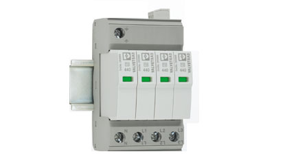 Phoenix Contact Avails New Surge Protection Devices With 4+0