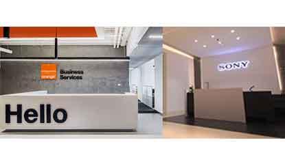 Sony and Orange Business
