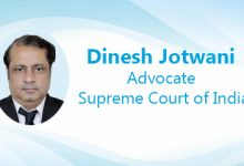 Dinesh Jotwani, Advocate, Supreme Court of India