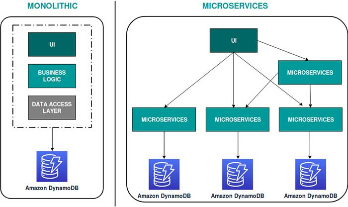 Monolithic and Microservices