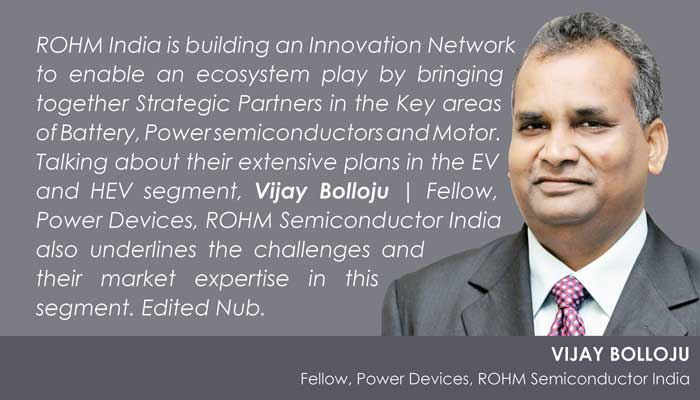 Vijay Bolloju, Rohm