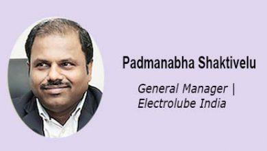 Padmanabha Shaktivelu Electrolube India