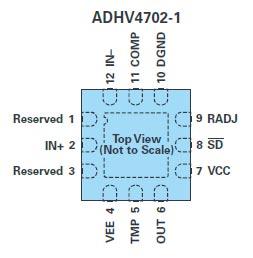 ADHV4702-1 pin configuration