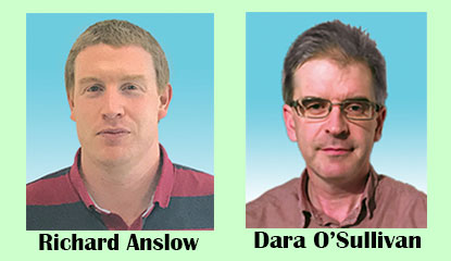 Richard Anslow and Dara O'Sullivan