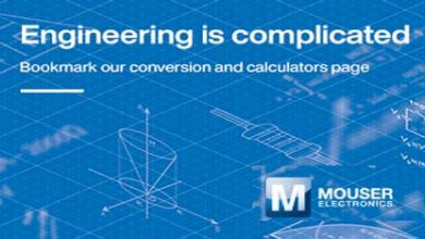 Mouser Electronics Calculators