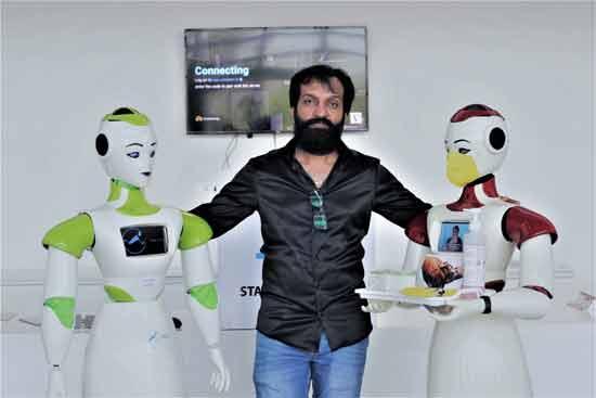 Jayakrishnan, ASIMOV Robotic