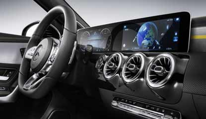Mercedes-Benz RDI Develops MBUX Infosystem with COVID-19 Testing Centres