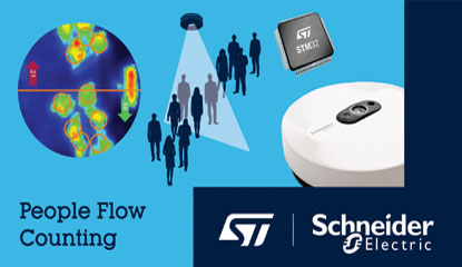 STMicroelectronics and Schneider Electric Work on AI Enabled Iot Sensor